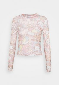 NEW girl ORDER - Long sleeved top - pink - 4