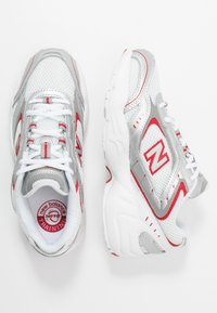 New Balance - WX452 - Sneakers - white/black/team red - 1