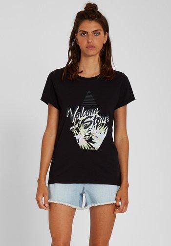 RADICAL DAZE TEE - Print T-shirt - black