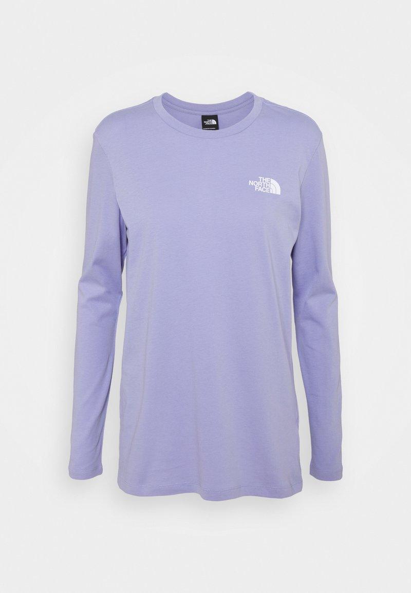 The North Face - TEE - Pitkähihainen paita - sweet lavender