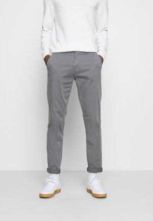 VIGGO - Chinos - smoked pearl grey