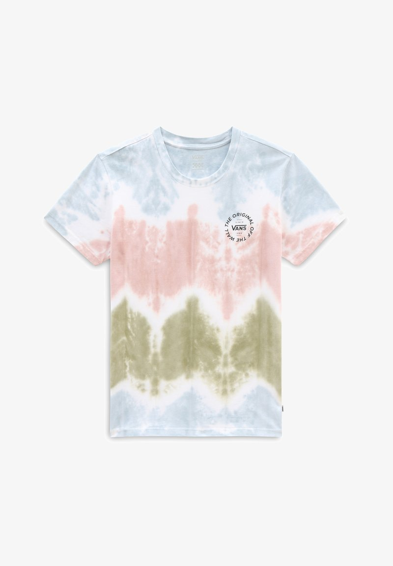 Vans - WM BECKS TIEDYE BF SS TEE - Print T-shirt - tie dye