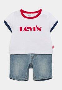 Levi's® - RINGER TEE SET - Camiseta estampada - white - 0