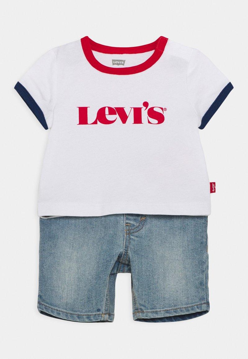 Levi's® - RINGER TEE SET - Camiseta estampada - white