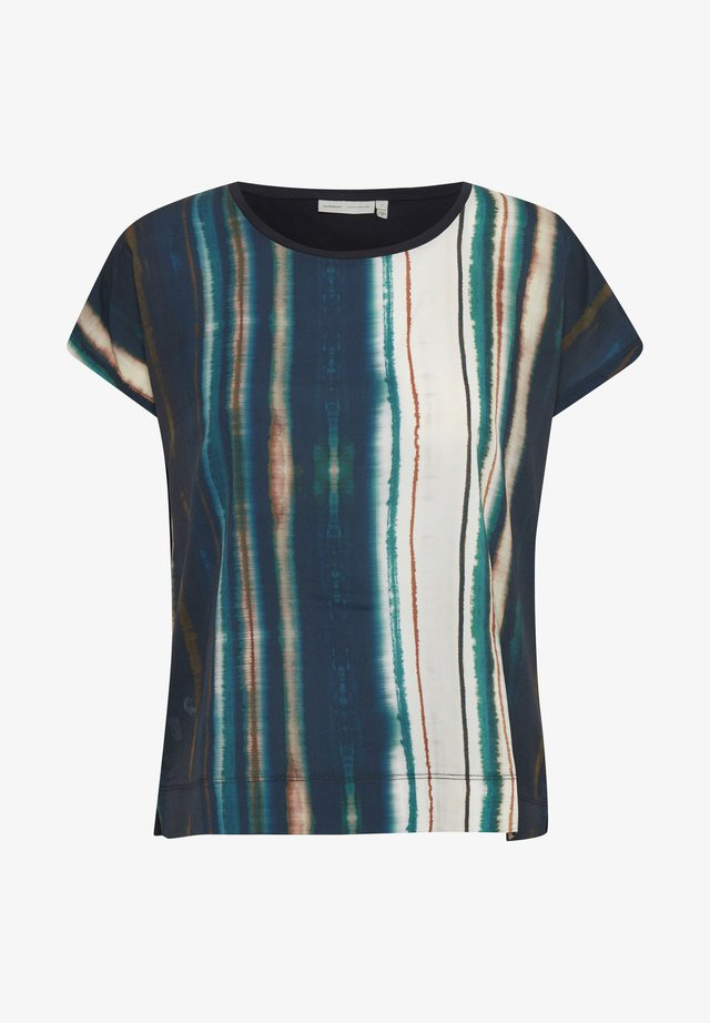 SICILY TSHIRT KNTG - T-shirt imprimé - shaded stripes