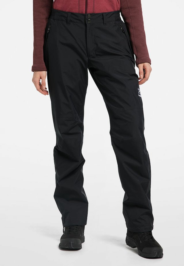 ASTRAL GTX PANT - Friluftsbyxor - true black long