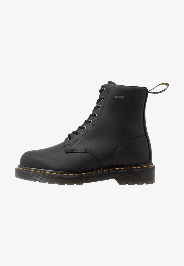 1460 WP - Lace-up ankle boots - black republic