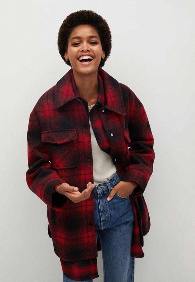 BLANCH - Button-down blouse - rojo