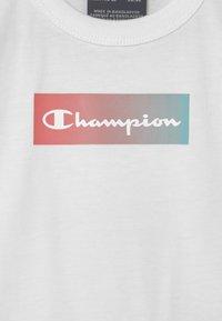 Champion - SET UNISEX - Print T-shirt - white - 3