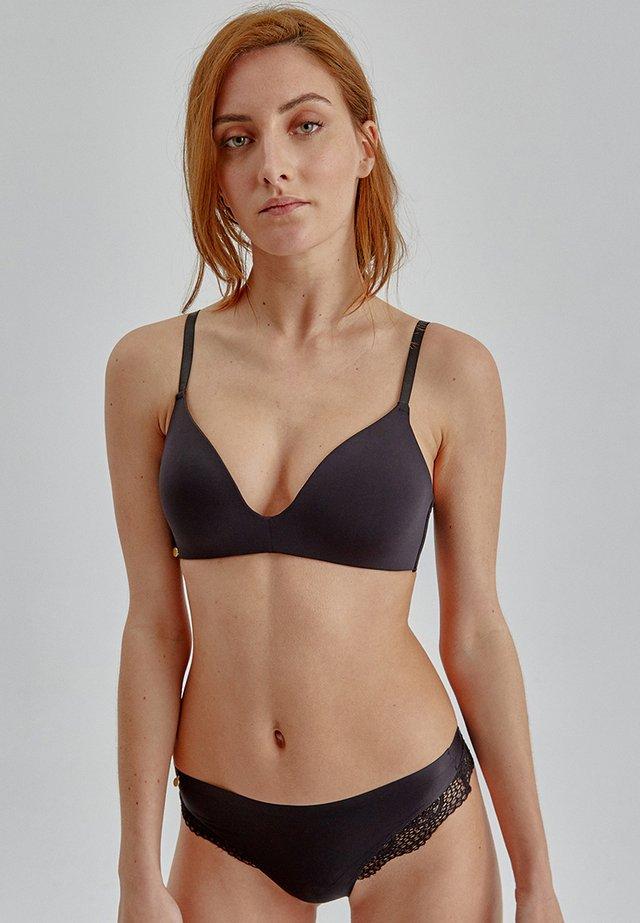 SET  - T-shirt bra - black