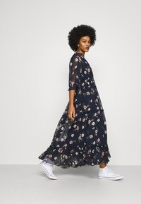Vero Moda - VMTALLIE FLOUNCE  - Maxi dress - navy blazer - 1
