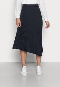 Opus - RELITA - Plisovaná sukně - mystic blue - 0