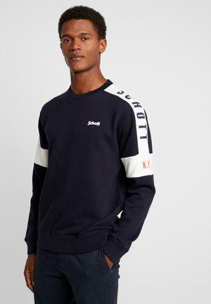 CREW  - Sweatshirt - navy/offwhite