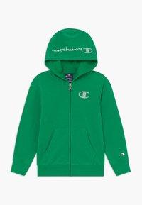 Champion - LEGACY AMERICAN CLASSICS - Mikina na zip - green - 0