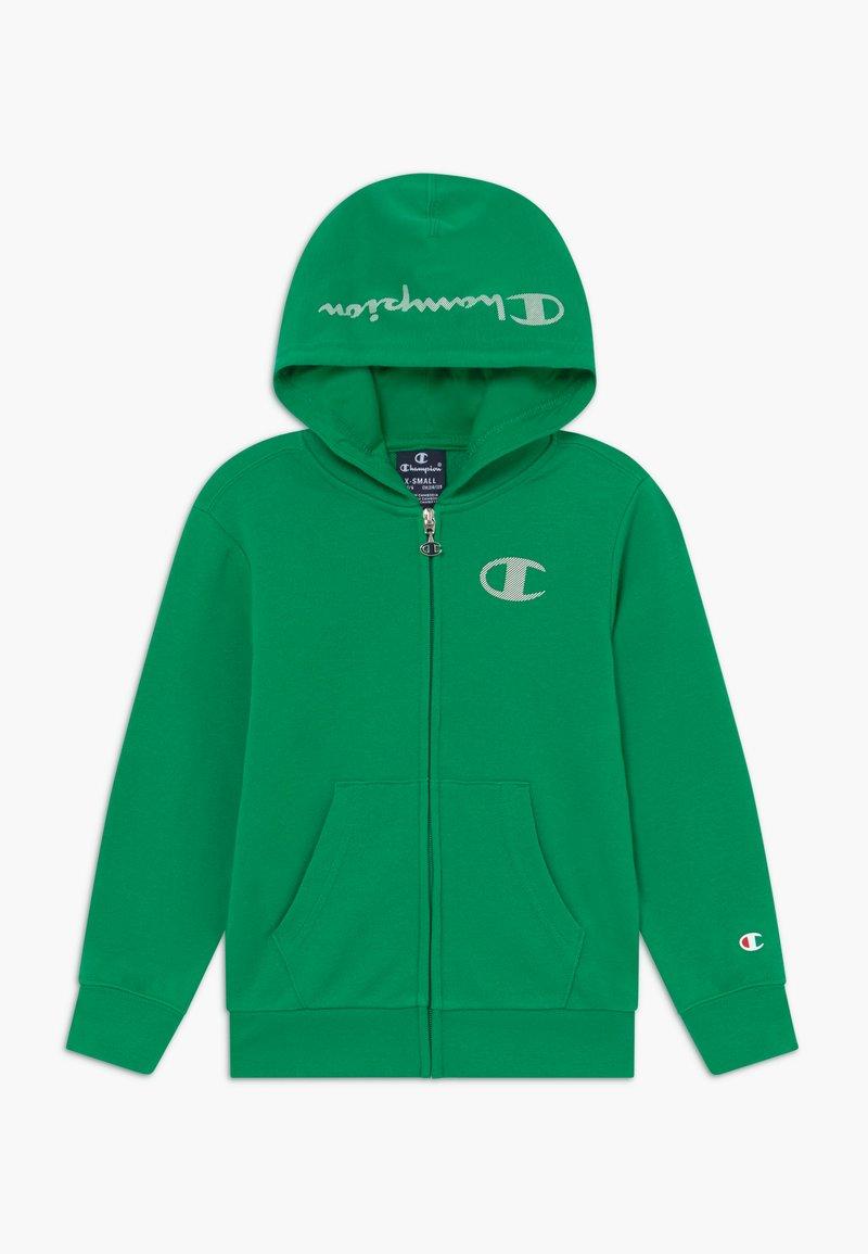 Champion - LEGACY AMERICAN CLASSICS - Mikina na zip - green