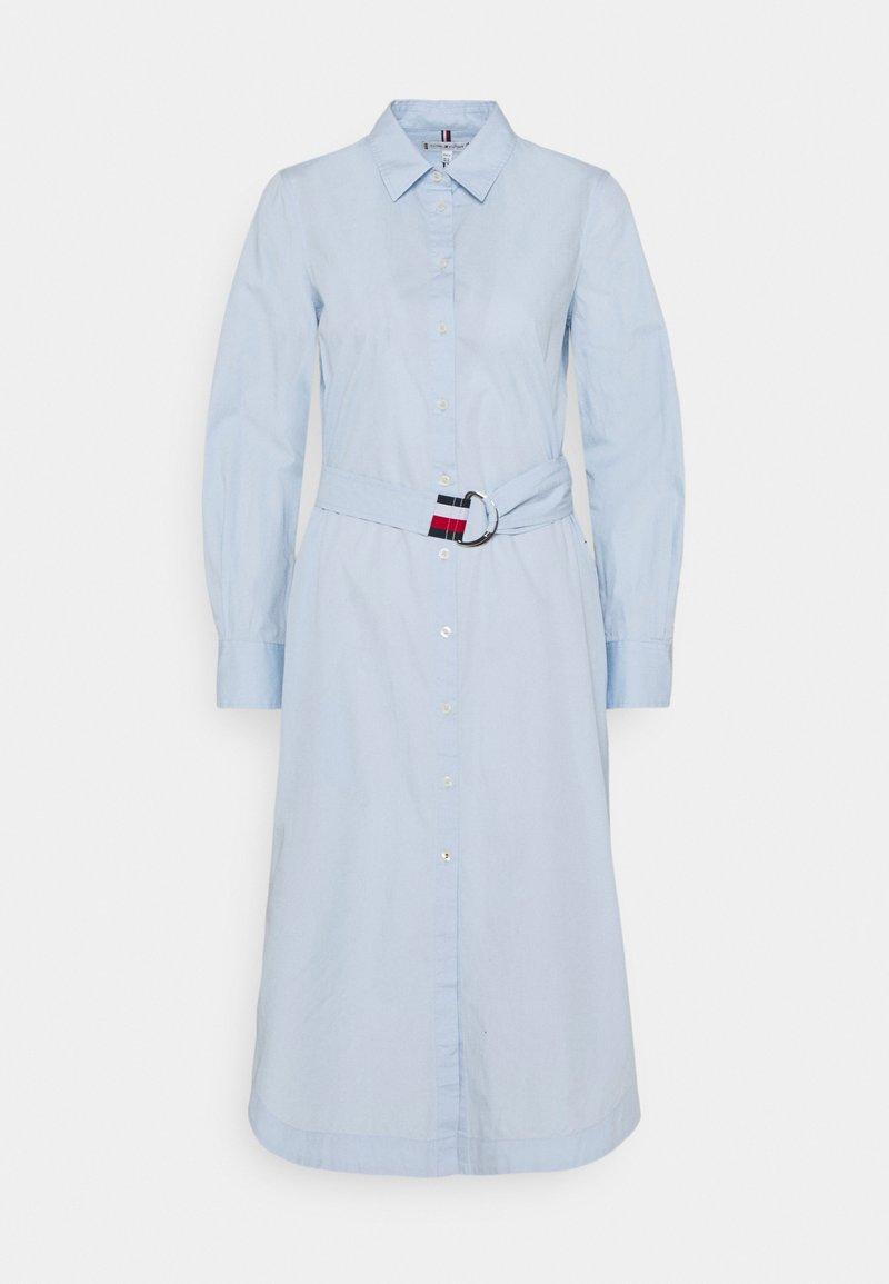 Tommy Hilfiger - MIDI DRESS  - Shirt dress - breezy blue