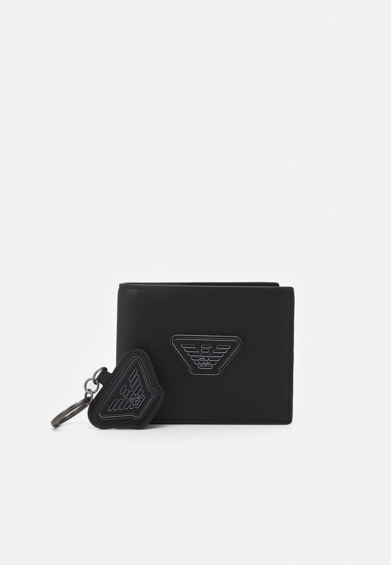 Emporio Armani - UNISEX SET - Wallet - black
