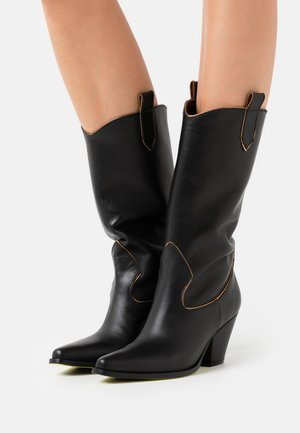 PANDA  - Cowboy/Biker boots - nero