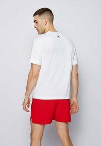 BOSS - Print T-shirt - white - 2