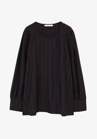Violeta by Mango - NINA - Long sleeved top - schwarz - 4