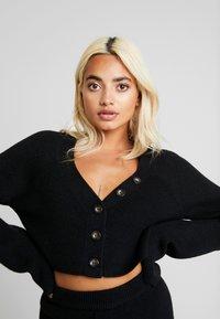 Fashion Union Petite - VELERINA - Cardigan - black - 3