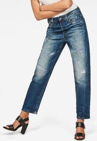 G-Star - BOYFRIEND - Relaxed fit jeans - dark blue - 0
