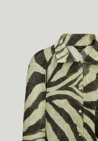 Massimo Dutti - Shirt dress - khaki - 4