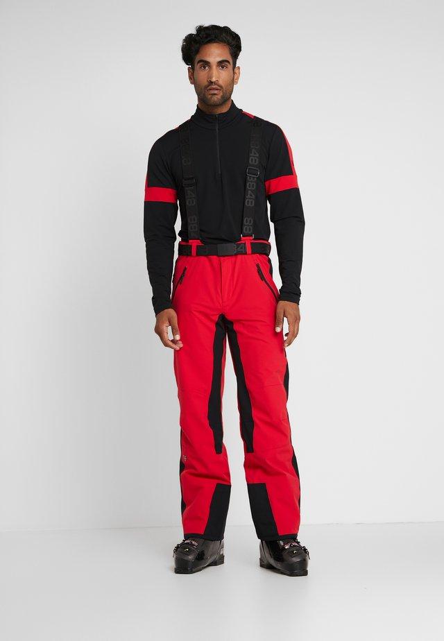ROTHORN PANT - Pantalon de ski - red