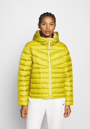 Down jacket - tent/tea tree mist