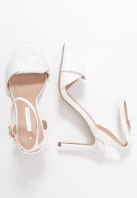 Dorothy Perkins - BETH ORIGAMI DRESSY - High heeled sandals - white - 3