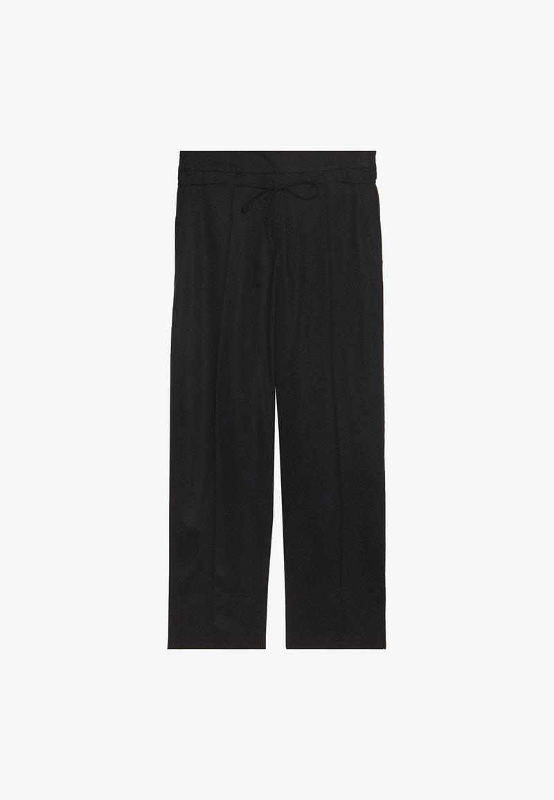 Opus - MONE - Trousers - black
