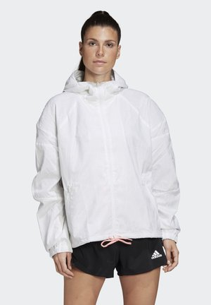 ADIDAS W.N.D. ITERATIONS JACKET - Impermeabile - white