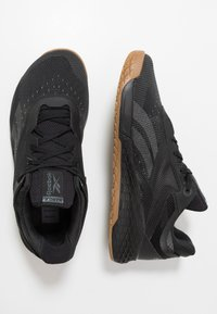Reebok - NANO X - Sportschoenen - black/true grey - 1