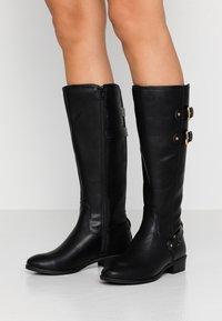 Dorothy Perkins - KIKI BELLOWS RIDING  - Cowboy/Biker boots - black - 0