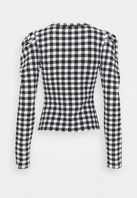 Guess - HADIL - Bluzka z długim rękawem - black/white - 1
