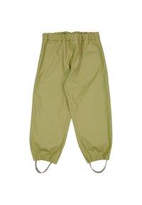 Wheat - CHARLIE - Rain trousers - heather green - 4