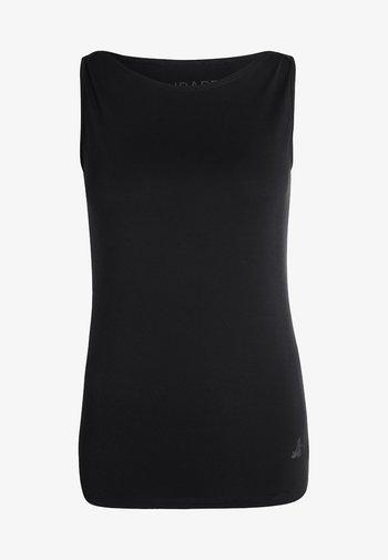 TANK BOAT NECK - Top - black