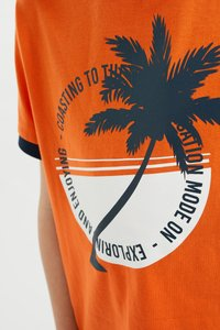 WE Fashion - Print T-shirt - orange - 5