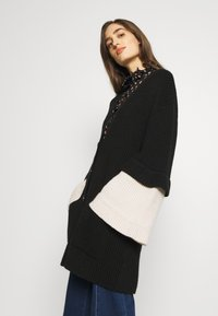 See by Chloé - Cardigan - white/black