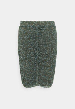 MENA SKIRT - Mini skirt - leaf