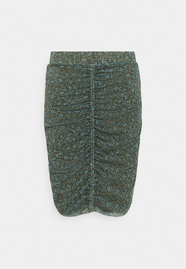 MENA SKIRT - Mini skirt - leaf