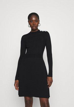 KANDE DRESS - Jumper dress - black