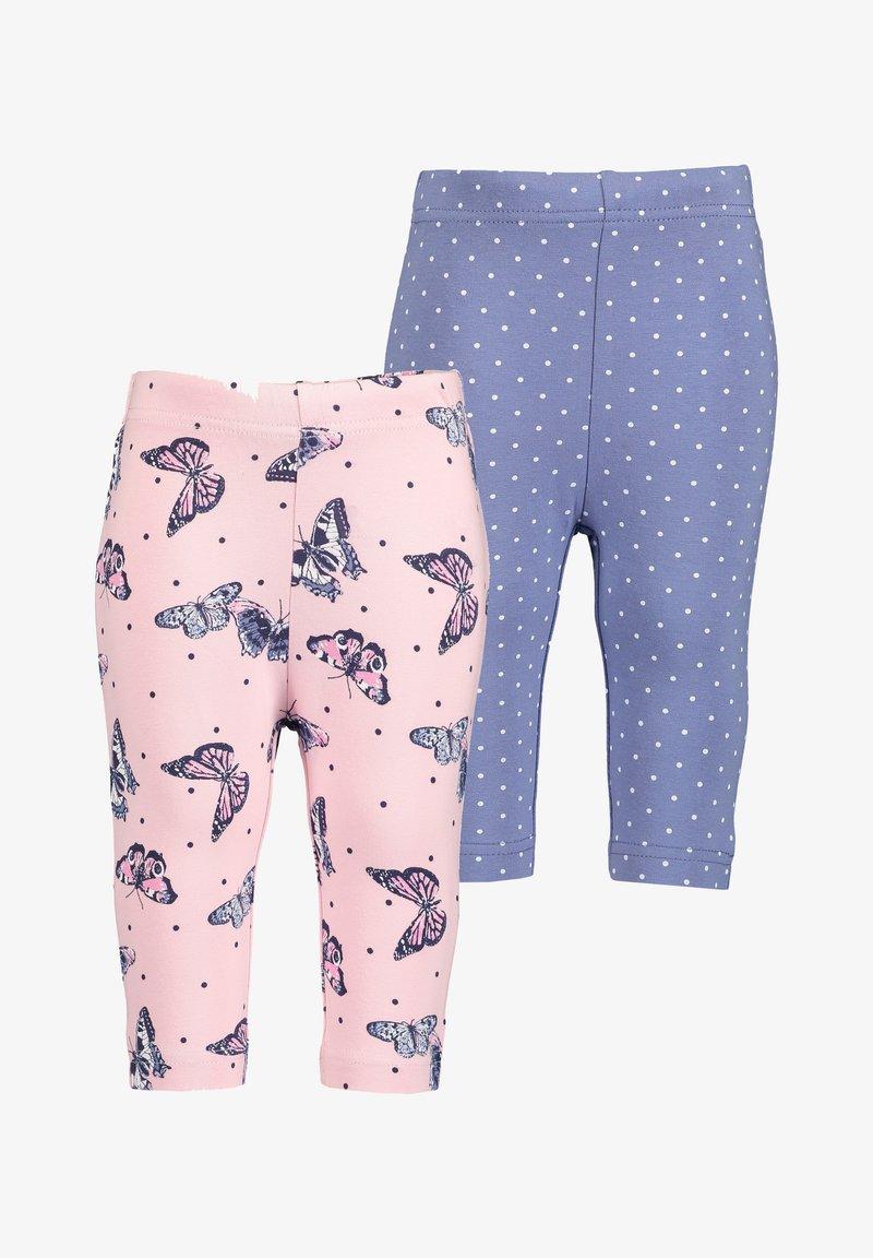 Blue Seven - GIVE ME WINGS - Leggings - Trousers -  rosa aop+blau aop