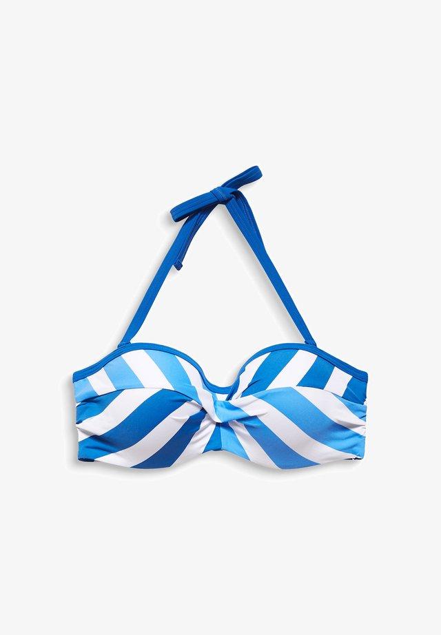 Bikinitop - bright blue