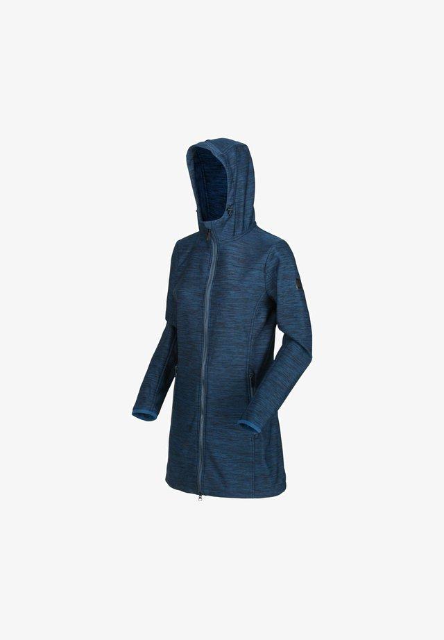 ALERIE  - Soft shell jacket - blue opal
