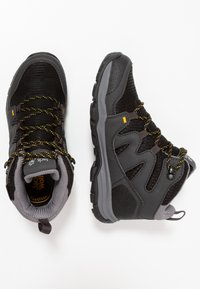 Jack Wolfskin - MTN ATTACK 3 TEXAPORE MID UNISEX - Hikingschuh - burly yellow - 0