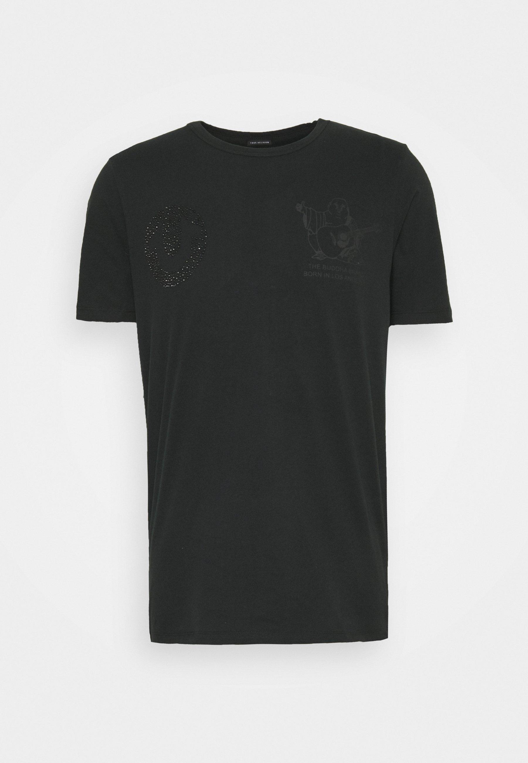 Men HORSESHOE RHINESTONES - Print T-shirt