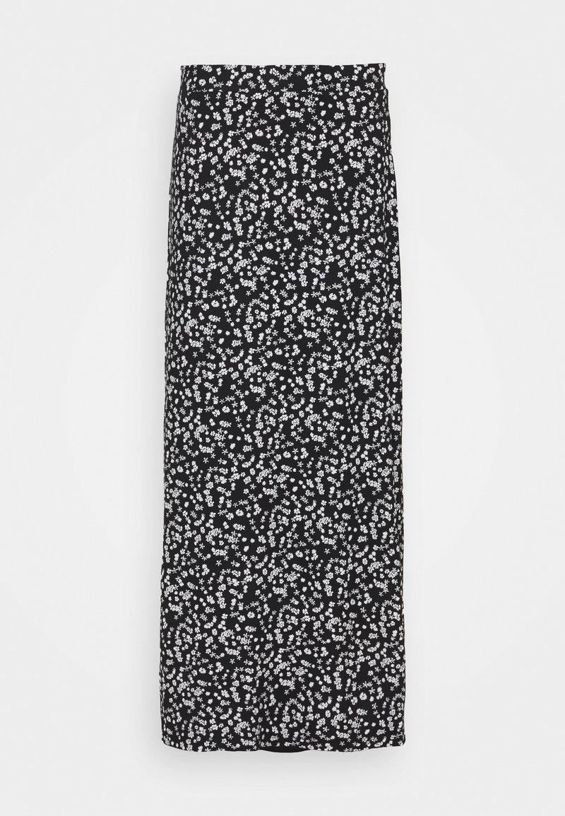 Even&Odd Tall - Maxi sukně - black