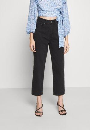 STRAIGHT - Jeans Straight Leg - black denim