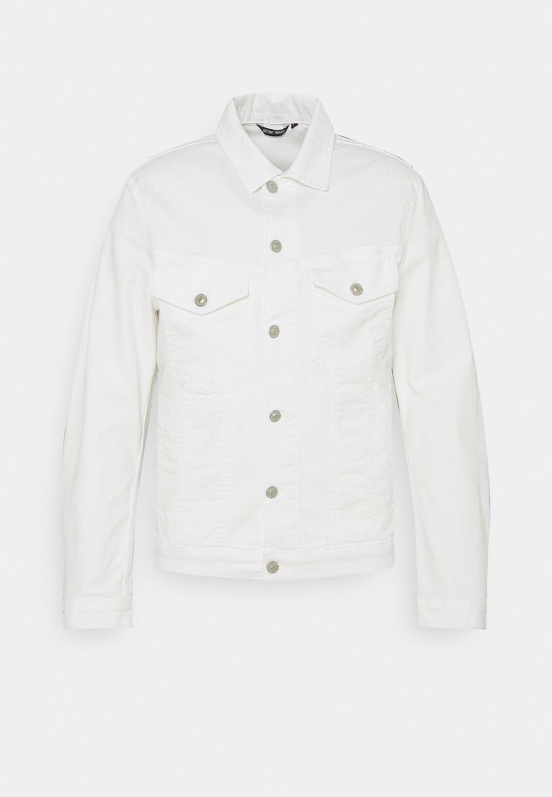 Antony Morato - COAT SUPER SLIM FIT POWER - Denim jacket - crema
